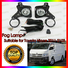 Fog Lights Lamps Complete Kit FREE BULB to suit Toyota HiAce 2011-2013
