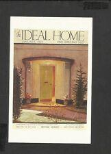 Nostalgia Postcard Better Homes- Ideal Home Magazine Cover 1939