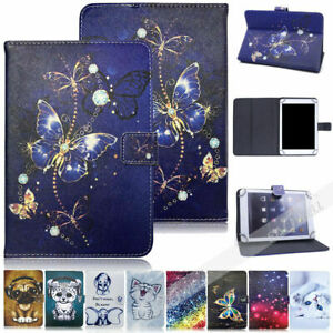 """For LG G Pad 10.1"""" V700 Universal Tablet Case Protective Folding Leather Cover"""