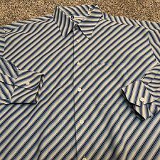 Bachrach Men's sz Extra Large Casual Shirt