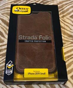 """OtterBox Strada Leather Folio Case for iPhone 11 Pro 5.8"""" - Espresso Brown - NEW"""