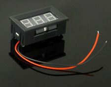 Digital LED Voltmeter Panel DC 5 - 30V Voltage Meter RED for Solar Systems etc.