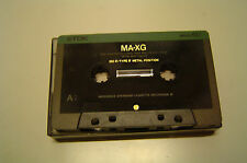 TDK MA-XG 60 Type IV Metal Tape Cassette Audio Kassette gebraucht läuft super