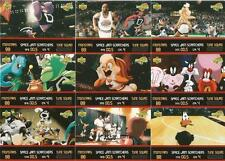 Space Jam The Movie Full 9 Card Scratchers Chase Set from Upper Deck