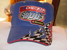 """Checker 500 Halvoline Race "" Hat Great Image New"