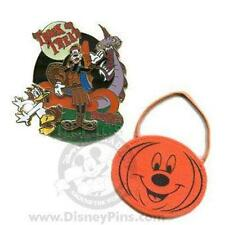 GOOFY DONALD HERCULES Costumes TRICK OR TREAT HALLOWEEN 2007 LE DISNEY PIN+CARD