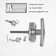 Birtley Garage door spares Easy Fix T bar lock handle 4 hole fixing