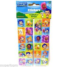 BUBBLE GUPPIES BIRTHDAY PARTY supplies (STICKER PACK) FREE SHIPPING