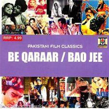 BE QARAAR & BAO JEE - NEW ORIGINAL LOLLYWOOD SOUNDTRACK CD