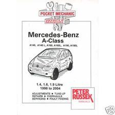 Mercedes Benz A Class 1.4/1.6/1.9 & Vaneo petrol 98-'04