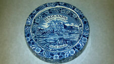 Badlands South Dakota 1930's Wall Drug Collectible Ashtray Made in UK Vintage