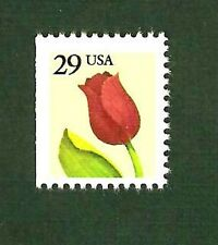 2527 Tulip Flower Single Stamp Mint/nh Free Shipping