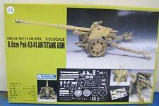 Gunze High-Tech Model Kit 1/35 8.8cm Pak 43/41 Antitank Gun