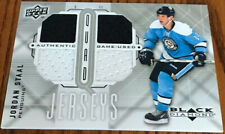 2009-10 Black Diamond Jerseys Quad Jordan Staal QJ-ST Pittsburgh Penguins