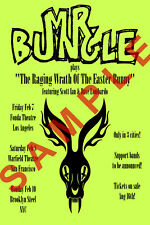 MR. BUNGLE 12X18 BAND POSTER 2019 REUNION TOUR CONCERT CALIFORNIA MIKE PATTON