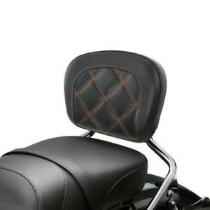 Passenger Sissy Bar Backrest Fit For Harley Softail Slim Low Rider FXLR 18-20