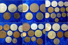 World Coin Lots By Country - Massive Multi Listing - Huge Variety