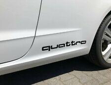 Audi Quattro Aufkleber 30cm,35cm 2er Set