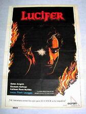 FEAR NO EVIL Movie DEVIL LUCIFER HORROR Poster ELIZABETH HOFFMAN STEFAN ARNGRIM