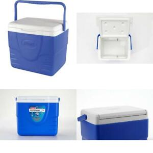 Personal Cooler Food Ice Chest Lunch Box 9 Qt Medium Picnic Camping Coleman Blue