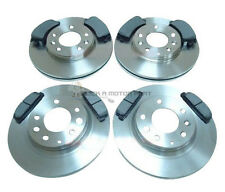 MAZDA 6 2.0 + 2.3 2000-2007 FRONT 2 & REAR 2 BRAKE DISCS & MINTEX PADS NEW