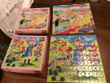 Vintage Pink Panther Jigsaw Puzzles 150 Pcs Each Jr Jigsaws X 2 - Hard To Find