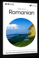 Eurotalk Talk Now Romanian for Beginners - Download option and CD ROM