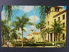 Orlando Florida United States Post Office Curt Teich Chrome Postcard 1958 Vtg