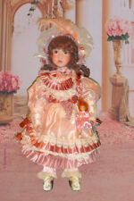 """Porcelain 27"""" Doll Rochelle Limited Edition Victorian Box"""