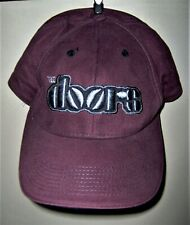 The DOORS Embroidered LOGO Baseball Cap Light Wine Colored 2001 Bio-Domes COOL