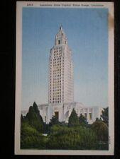 Louisiana Single Collectable USA Linen Postcards