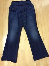 👖 Old Navy Maternity Full Panel Boot Cut Jeans Sz 18 👖