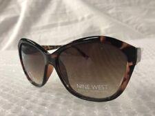 b285b9c8428 NEW Nine West Womens Cute Oversized Sunglasses Tortoise Shell Fashion  Trendy A2