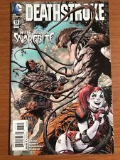 Deathstroke #13 (vol. 2) Harley Quinn BATMAN Low Run!! DC VF/NM Suicide Squad