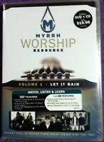 2006 🔥MYRRH WORSHIP RESOURCE🔥 Instructional Guitar DVD & CD Vol 1 LET IT RAIN
