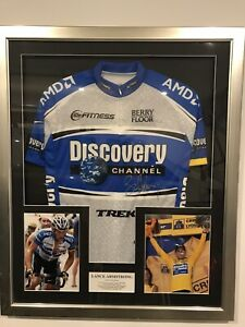 Lance Armstrong Signed Cycling Jersey