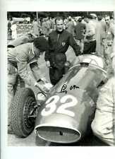 Stirling Moss Maserati 250F Swiss Grand Prix 1954 Signed Photograph 1