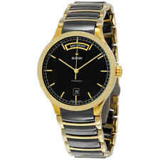 Rado Centrix Day-Date Automatic Black Dial Men's Watch R30157162