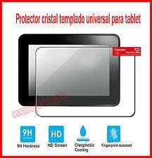 PROTECTOR DE PANTALLA CRISTAL TEMPLADO 10.1 PULGADAS UNIVERSAL 144X253mm PREMIUM