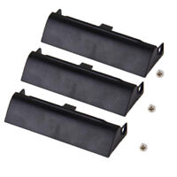 3Piece Hard Drive HDD Caddy Cover Bezel for DELL LATITUDE E6320 E6420