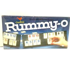 Cardinal Rummy - O Game Complete NEW Sealed Box Rummy Tile No. 850