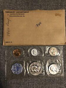 1955 US Mint Silver Proof Set In Original Mint Packaging