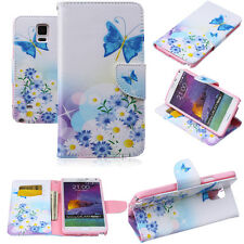 Magnetic Flip PU Leather Wallet Stand Case Cover For Samsung Galaxy S3 4 5 Note
