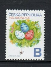 Czech Republic Easter 2020 Mnh stamp