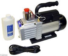 NEW 3 CFM VACUUM PUMP - rotary vane - HVAC air conditioning evacuation pumps