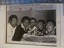 Vintage Wire Press Photo Tavares Throw B-day For Brother Chubby's 31st 6/9/1980