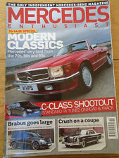 Mercedes Enthusiast Oct 2007 Issue 72 C Class, Brabus ML