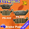 FRONT REAR Brake Pads for HONDA CBR 500 RA (Twin/ABS) 2013 2014 2015 2016