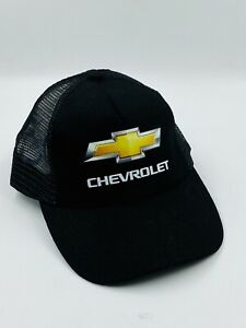 Hit Wear CHEVROLET Black Mesh Cap Hat