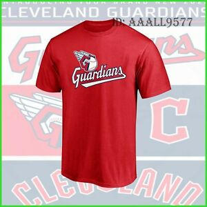 HOT NEW!! Cleveland Guardians New Name For 2022 Season T-Shirt Size S-3XL